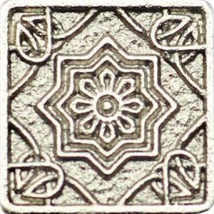 Magrib Nickel 3*3 — вставка напольная