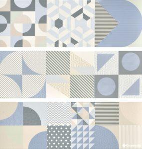 Decor Cromatica Mix (8 видов рисунка) 25*75 — плитка настенная