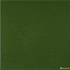 CATALONIA CRAQUELE DARK GREEN 20*20-стена