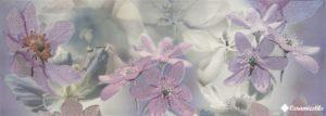 Creation Violet Flor 2 (Rect) 90*31.6 — декор