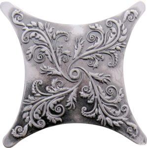 Estrella E1 Satined black silver 6.7*6.7 — вставка