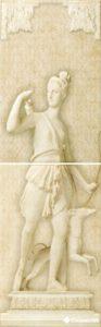 Decor Classic Diana Crema Marfil (комплект 2 плитки)  80.8*25.2 — декор
