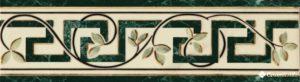 Cenefa Classic Garden Verde Alpi 25.2*7 — бордюр