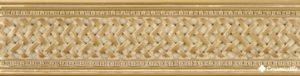 Cenefa Azahara B Oro 8*31.6 — бордюр