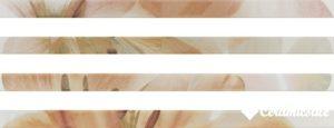 Lis. Onice Marfil Flor 5*90 5D6 — бордюр