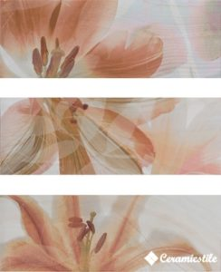 Dec. Onice Marfil Flor 32*90 5D4 — декор