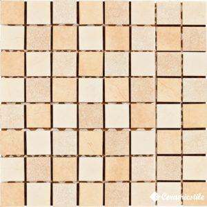 Mosaico Impero Quarzo (3.5*3.5) 30*30 — мозаика