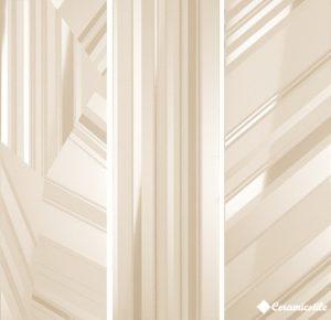 Dec. Concept Vaniglia Lucido (компл. 3 шт.) 96.3*96.3 — декор