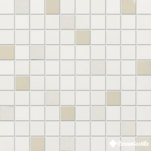 Mosaico Squadro Bianco Lucido (3*3) 31.5*31.5 — мозаика