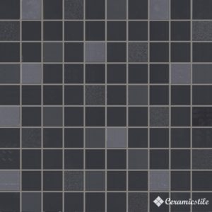 Mosaico Squadro Nero Lucido (3*3) 31.5*31.5 — мозаика