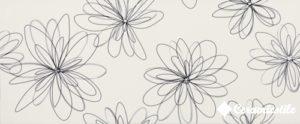 Dec. Pop Flower Bianco Lucido 25*60 — декор