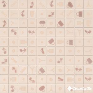 Mosaico Chic Pink (3×3) 31.5*31.5 — мозаика