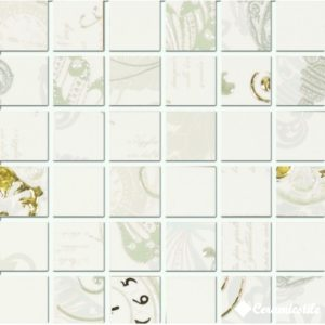 Mos. Carillon White (компл. 6 шт.) 15*15 — мозаика