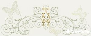 Dec. Fascia Baroque White 20*50 — декор