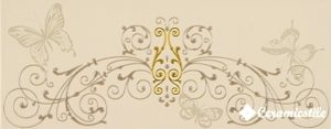 Dec. Fascia Baroque Cream 20*50 — декор