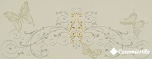 Dec. Fascia Baroque Greige 20*50 — декор
