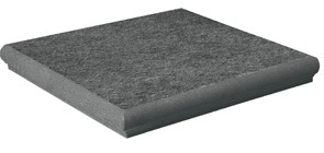 Ang. Percorsi Quartz Black Strut 33*33 — ступень угловая