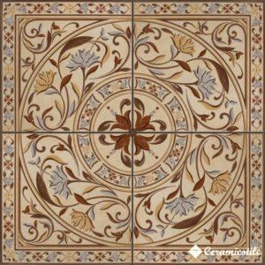 roseton arles 40,8×40,8 x 4 — панно