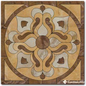ducale beige pulido 116,8×116,8 розетон