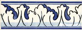 cenefa 765 (*) 7,5×20 — azul