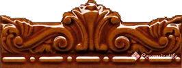 moldura gotica melado 7,5×20