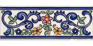 primavera cenefa 768 iris бордюр 7,5×20