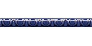 primavera cordon barocco azul antic бордюр 2×20