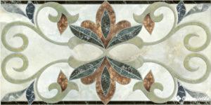 cenefa saten gris 20×41 — бордюр