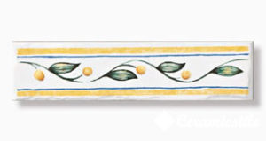 listelo citron 3,5×15 — бордюр