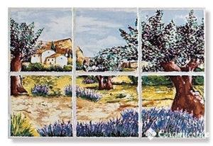 conjunto paisaje-6 30×45 — декор панно