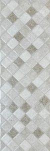 Damasco Rel 02 Ceniza 25*75 — плитка настенная