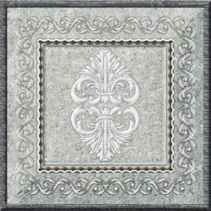 Inserto Damasco Grey 10*10 — вставка