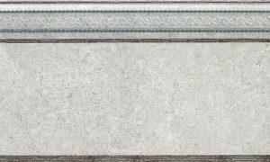 Zocalo Damasco Grey 15*25 — цокольный бордюр
