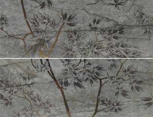 Dec Essence Autumn Smoke B (компл. 2 шт.) 89*118.2 — декор