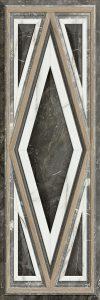 Nebula R90 Boisserie Black 30*90 — плитка настенная